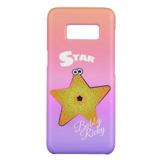 Funda De Case-Mate Para Samsung Galaxy S8 Critter de las estrellas de mar del dibujo animado