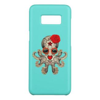 Funda De Case-Mate Para Samsung Galaxy S8 Día rojo del pulpo muerto del bebé
