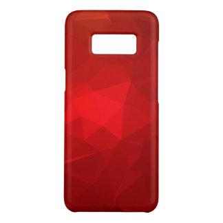 Funda De Case-Mate Para Samsung Galaxy S8 Diseño geométrico abstracto de LoveGeo - Borgoña
