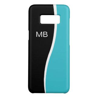 Funda De Case-Mate Para Samsung Galaxy S8 Diseño para hombre del monograma del negocio