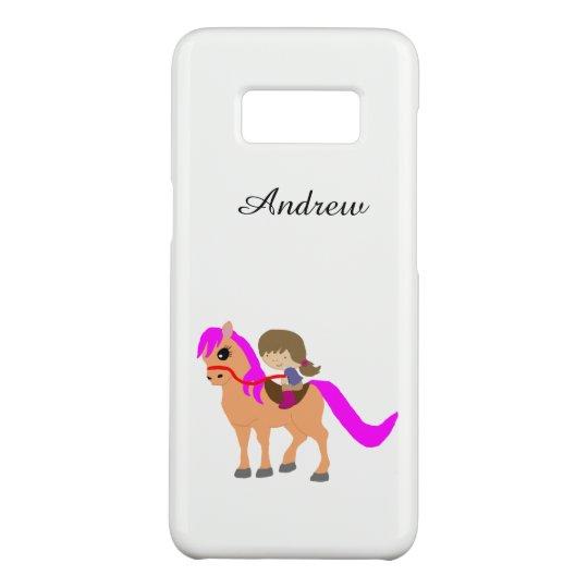 Funda De Case-Mate Para Samsung Galaxy S8 El caminar en mi potro