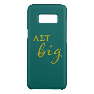 Funda De Case-Mate Para Samsung Galaxy S8 Escritura grande del Tau de la sigma alfa