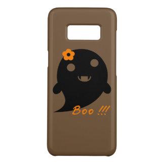 """Funda De Case-Mate Para Samsung Galaxy S8 Fantasma lindo con la flor y la palabra """"abucheo """""""