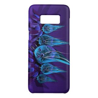 Funda De Case-Mate Para Samsung Galaxy S8 flores de cristal azules