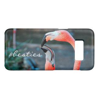"""Funda De Case-Mate Para Samsung Galaxy S8 """"# foto rosada anaranjada linda de los flamencos"""