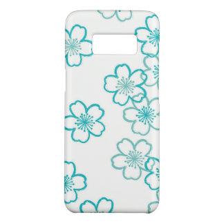 Funda De Case-Mate Para Samsung Galaxy S8 Galaxia floral S8, caja de Samsung del teléfono de