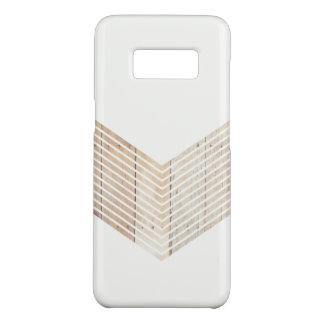 Funda De Case-Mate Para Samsung Galaxy S8 Galón minimalista blanco con madera
