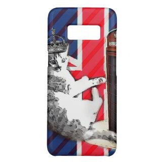 Funda De Case-Mate Para Samsung Galaxy S8 gato del gatito de la corona de la cabina de