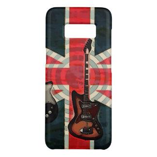 Funda De Case-Mate Para Samsung Galaxy S8 Guitarra eléctrica de Union Jack de la bandera del