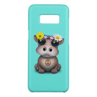 Funda De Case-Mate Para Samsung Galaxy S8 Hippie lindo del hipopótamo del bebé