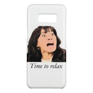 """Funda De Case-Mate Para Samsung Galaxy S8 """"Hora de relajar"""" la caja elegante del teléfono"""