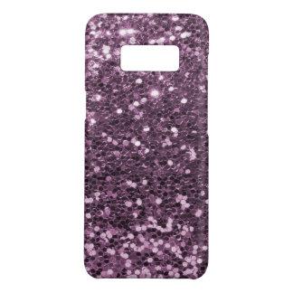 Funda De Case-Mate Para Samsung Galaxy S8 Impresión púrpura del brillo de la lavanda