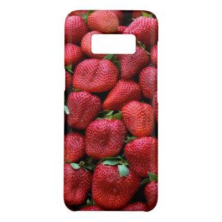 Funda De Case-Mate Para Samsung Galaxy S8 Impresión roja fresca de la foto de las fresas
