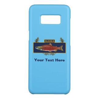 Funda De Case-Mate Para Samsung Galaxy S8 Insignia del pescador del combate de Alaska