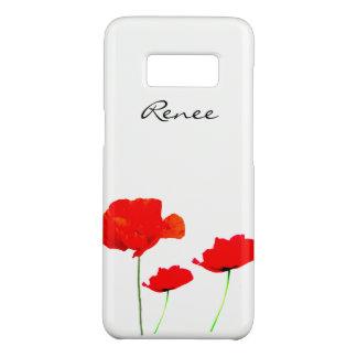 Funda De Case-Mate Para Samsung Galaxy S8 La colección 02 de la AMAPOLA personalizó la caja