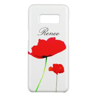 Funda De Case-Mate Para Samsung Galaxy S8 La colección 05 de la AMAPOLA personalizó la caja