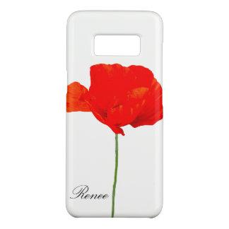 Funda De Case-Mate Para Samsung Galaxy S8 La colección 06 de la AMAPOLA personalizó la caja