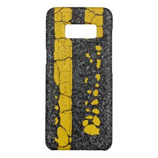 Funda De Case-Mate Para Samsung Galaxy S8 Línea amarilla doble decaída
