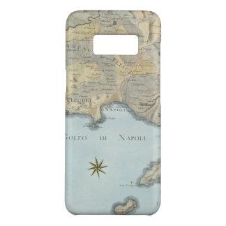 Funda De Case-Mate Para Samsung Galaxy S8 Mapa del golfo de Nápoles y de los alrededores