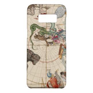 Funda De Case-Mate Para Samsung Galaxy S8 Mapa del vintage del Polo Norte