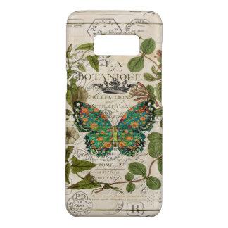Funda De Case-Mate Para Samsung Galaxy S8 mariposa de monarca botánica del país francés de