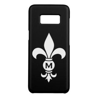 Funda De Case-Mate Para Samsung Galaxy S8 Minimalist moderno simple del monograma de la flor