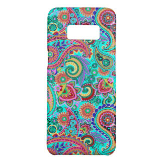 Funda De Case-Mate Para Samsung Galaxy S8 Modelo retro multicolor de Paisley