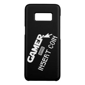 Funda De Case-Mate Para Samsung Galaxy S8 Moneda del parte movible del videojugador