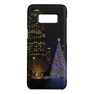Funda De Case-Mate Para Samsung Galaxy S8 Navidad en la noche del parque de Warren