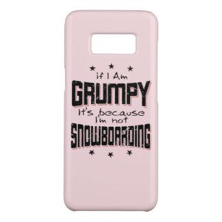Funda De Case-Mate Para Samsung Galaxy S8 No SNOWBOARD GRUÑONA (negro)