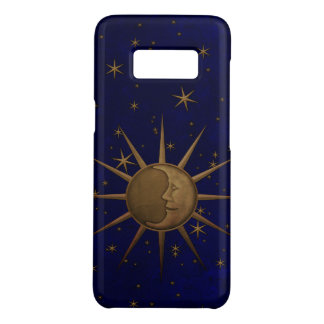 Funda De Case-Mate Para Samsung Galaxy S8 Noche estrellada de la luna celestial de Sun