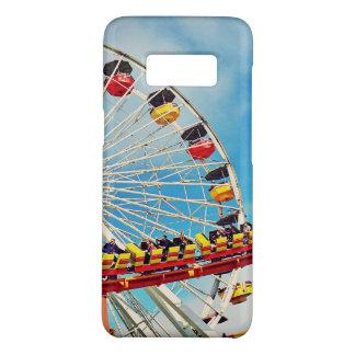 Funda De Case-Mate Para Samsung Galaxy S8 Noria del carnaval de la diversión y foto de la