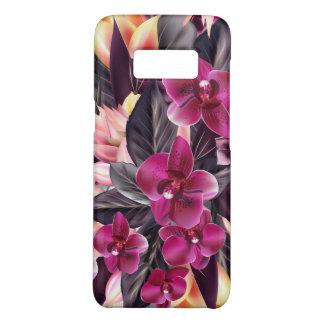 Funda De Case-Mate Para Samsung Galaxy S8 Orquídeas. Diseño tropical con las flores hermosas