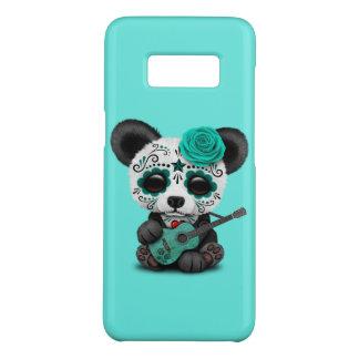 Funda De Case-Mate Para Samsung Galaxy S8 Panda azul del cráneo del azúcar que toca la
