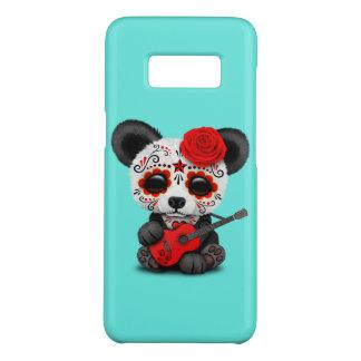 Funda De Case-Mate Para Samsung Galaxy S8 Panda roja del cráneo del azúcar que toca la