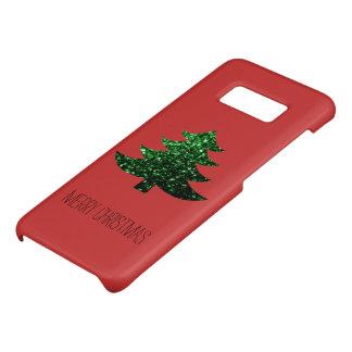 Funda De Case-Mate Para Samsung Galaxy S8 Personalice las chispas del verde del árbol de
