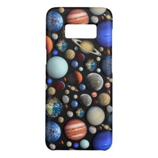 Funda De Case-Mate Para Samsung Galaxy S8 Pila de modelo temático del espacio de los