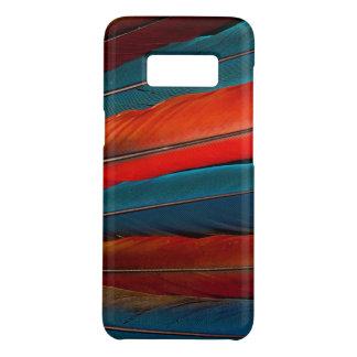 Funda De Case-Mate Para Samsung Galaxy S8 Plumas de cola del Macaw del escarlata
