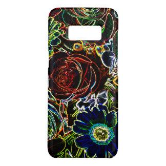 Funda De Case-Mate Para Samsung Galaxy S8 Ramo colorido afilado de la flor que brilla