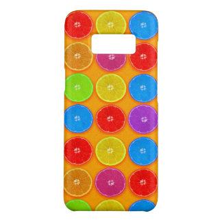 Funda De Case-Mate Para Samsung Galaxy S8 Rebanadas anaranjadas coloridas frescas