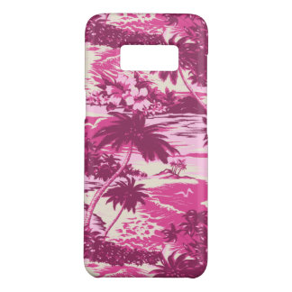 Funda De Case-Mate Para Samsung Galaxy S8 Rosa escénico de la isla hawaiana de la bahía de