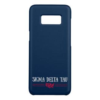 Funda De Case-Mate Para Samsung Galaxy S8 Tau el   los E.E.U.U. del delta de la sigma