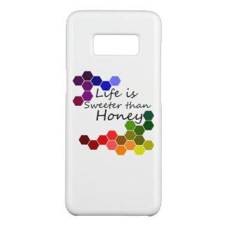 Funda De Case-Mate Para Samsung Galaxy S8 Tema de la miel con palabras positivas