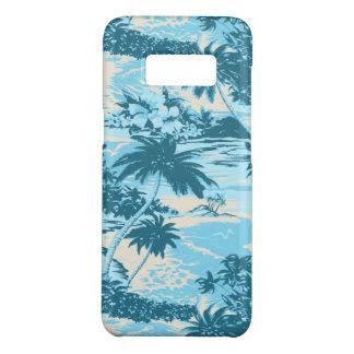 Funda De Case-Mate Para Samsung Galaxy S8 Turquesa escénica de la isla hawaiana de la bahía