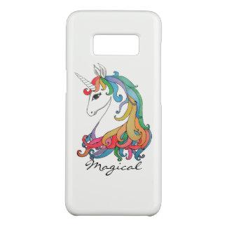 Funda De Case-Mate Para Samsung Galaxy S8 Unicornio lindo del arco iris de la acuarela