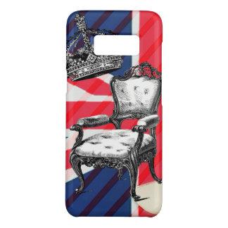 Funda De Case-Mate Para Samsung Galaxy S8 Union Jack de la corona del jubileo de la silla