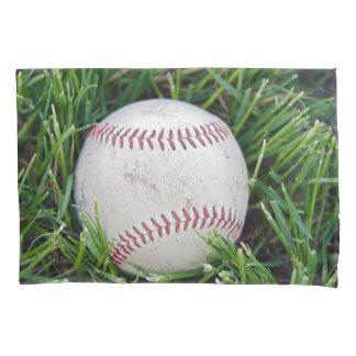 Funda De Cojín béisbol en hierba verde