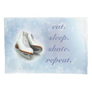 Funda De Cojín Caja de la almohada del patinaje de hielo