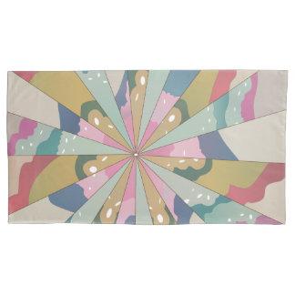 Funda De Cojín Caleidoscopio del fractal