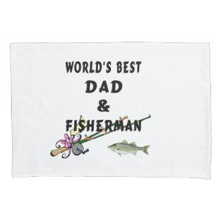 Funda De Cojín El mejores papá y pescador